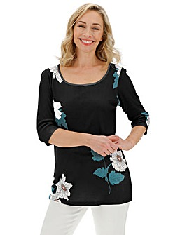 Value 3/4 Sleeve Tunic