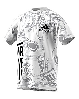 adidas Younger Boys ID Printed Tee