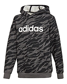 adidas Younger Boys Linear Hoodie