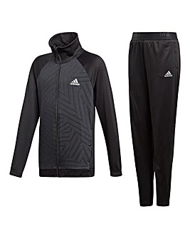 adidas Younger Boys Knitted Tracksuit