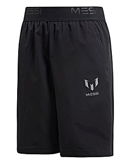 Adidas Younger Boys Messi Woven Short