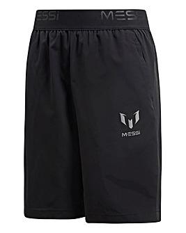 Adidas Younger Boys Messi Woven Short