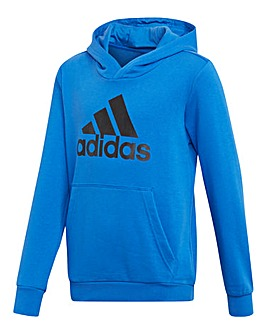 adidas Younger Boys Logo Hoodie