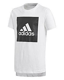 Adidas Younger Boys Logo Tee