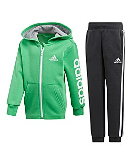 adidas Little Boys Tracksuit
