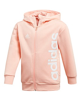Adidas Little Girl Linear FZ Hoodie