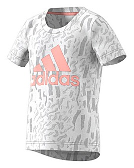 adidas Little Girl Tee