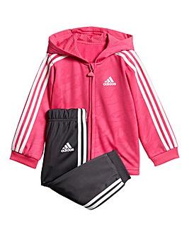 Adidas Infant Shiny Jog Set