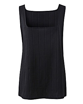 Black Bandage Vest
