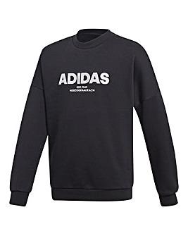Adidas Younger Boys Allcap Crew