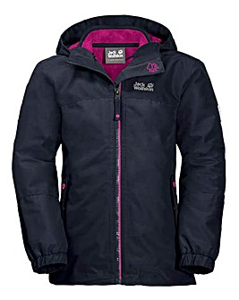 Jack Wolfskin Girls Iceland 3in1 Jacket
