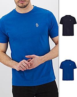 Luke Sport Johnys Pack of Two T-Shirts