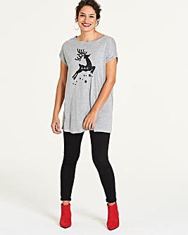Ho Ho Ho Boyfriend Christmas T-Shirt