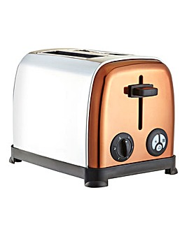 Copper and Stainless Steel Toaster