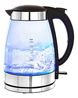 Stainless Steel Glass Kettle