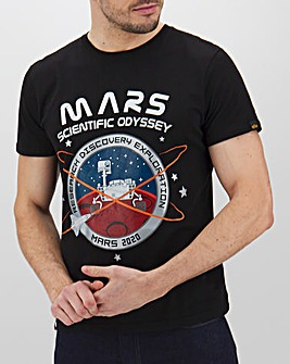 Alpha Industries Mission To Mars T-Shirt