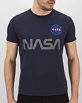 Alpha Industries Reflective Nasa T-Shirt