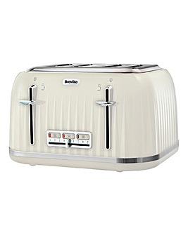 Breville VTT702 Impressions 4 Slice Cream Toaster