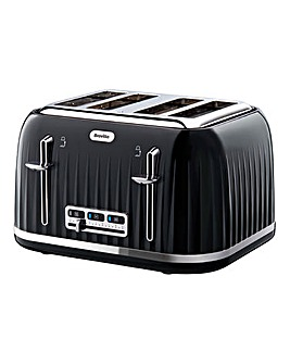 Breville VTT476 Impressions 4 Slice Black Toaster