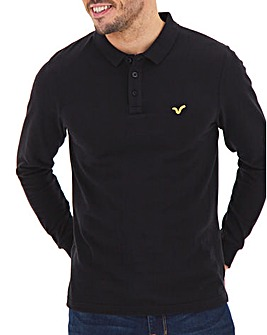 Voi Storm Long Sleeve Polo Long