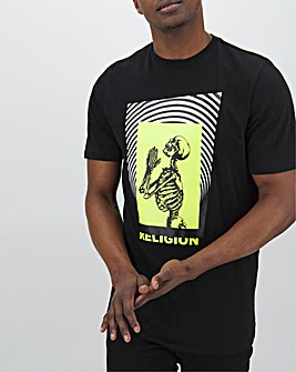 Religion Electro T-Shirt Long