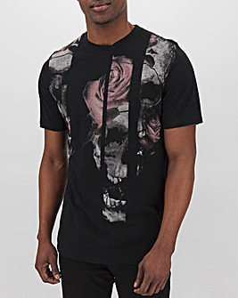 Religion Slice Skull T-Shirt Long