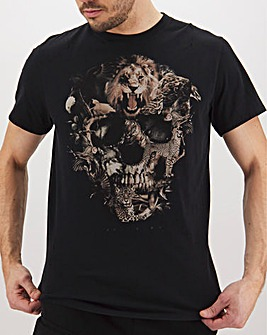 Religion Ark Skull T-Shirt Long