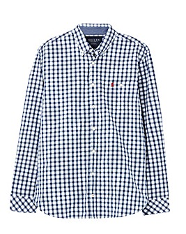 Joules Hewney L/S Checked Poplin Shirt