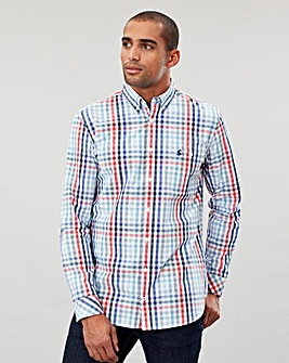 Joules Hewney Checked Poplin Shirt
