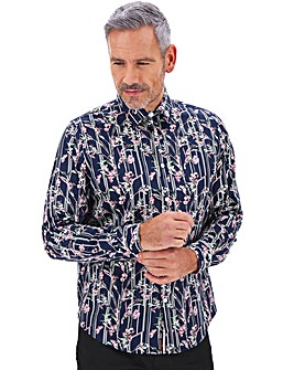 Joe Browns Floral Stripe Shirt