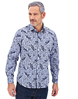 Joe Browns Floral Print Shirt Long