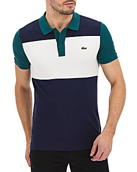 Lacoste Slim Fit Colour Block Polo
