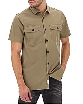 Fenchurch Boxy Utility Shirt Long