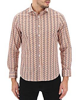 Peter Werth Geo Print Shirt Long