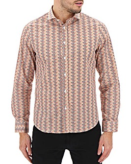 Peter Werth Geo Print Shirt Long