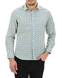 Peter Werth Ditsy Floral Shirt Long
