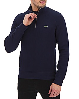 Lacoste Zip Neck Sweatshirt