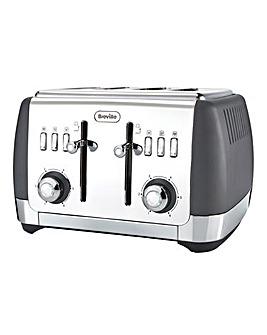 Breville VTT764 Strata Matt Grey 4 Slice Toaster