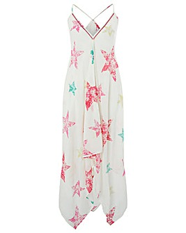 Monsoon Starbella Hanky Hem Dress