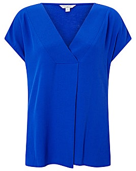 Monsoon Winona Woven Front Top