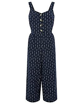 Monsoon Sapphire Printed Jumpsuit