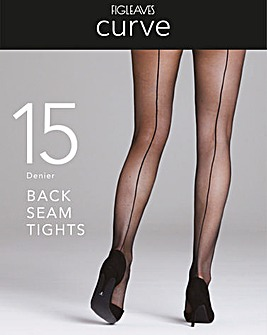 Figleaves Curve Back Seam Tights