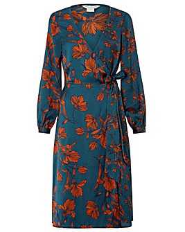 Monsoon Shayna Floral Print Dress