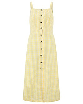 Monsoon Cleo Gingham Dress