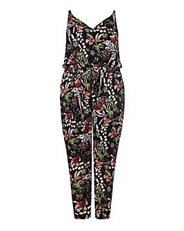 Mela London Curve Floral Drawstring Jump