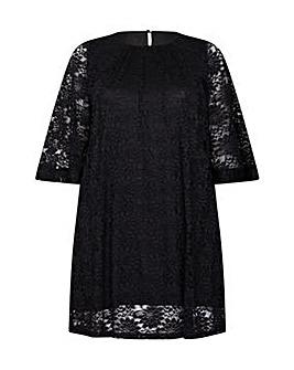 Mela London Curve Floral Tunic Dress