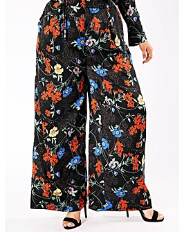 Koko Floral Co-ord Wide Leg Trousers