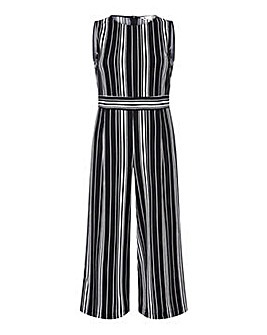 Yumi Curves Stretch Stripe Jumpsuit