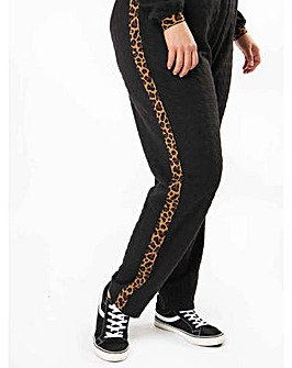 Koko Leopard Stripe Joggers