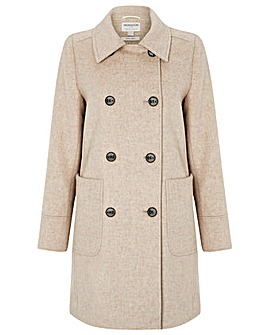 Monsoon Lilly Double Breasted Coat